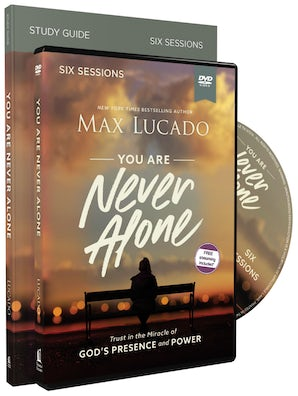 You Are Never Alone Study Guide with DVD book image