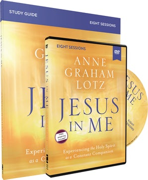 Jesus in Me Study Guide with DVD book image