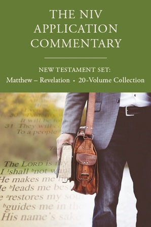 The NIV Application Commentary, New Testament Set: Matthew - Revelation, 20-Volume Collection book image