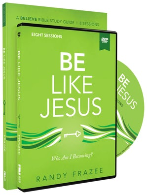 Be Like Jesus Study Guide with DVD book image