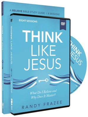 Think Like Jesus Study Guide with DVD book image
