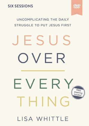 Jesus Over Everything Video Study book image