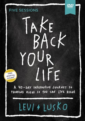 Take Back Your Life Video Study book image