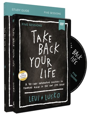 Take Back Your Life Study Guide with DVD book image