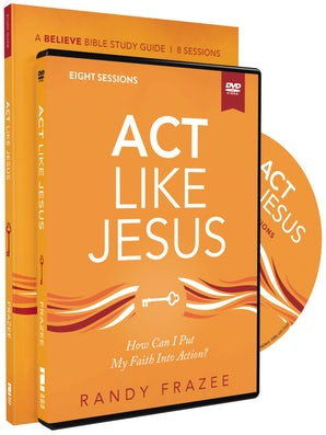 Act Like Jesus Study Guide with DVD book image