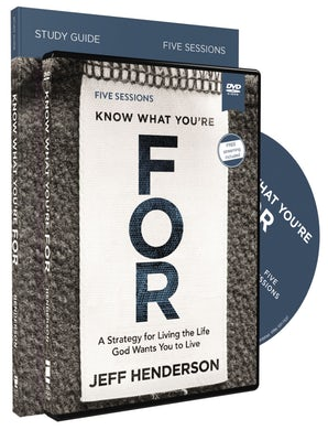 Know What You're FOR Study Guide with DVD book image