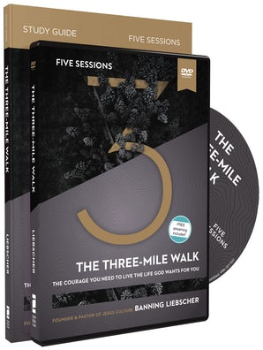 The Three-Mile Walk Study Guide with DVD book image