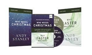 Who Needs Christmas/Why Easter Matters Study Guides with DVD book image