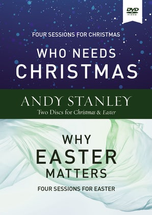 Who Needs Christmas/Why Easter Matters Video Study book image