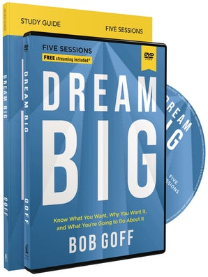 Dream Big Study Guide with DVD book image