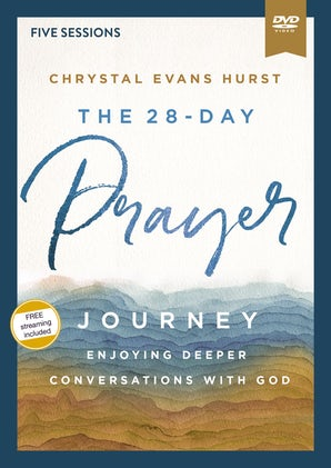 The 28-Day Prayer Journey Video Study book image