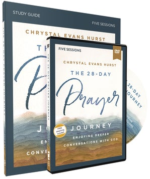 The 28-Day Prayer Journey Study Guide with DVD book image