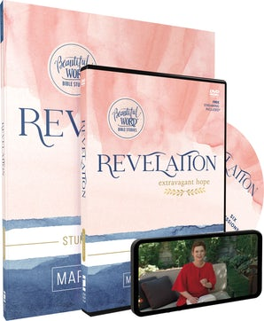 Revelation Study Guide with DVD book image