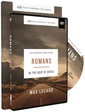 40 Days Through the Book: Romans Study Guide with DVD book image