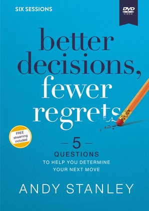 Better Decisions, Fewer Regrets Video Study book image
