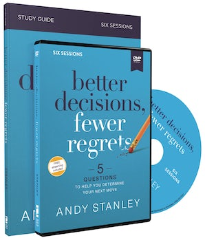 Better Decisions, Fewer Regrets Study Guide with DVD book image