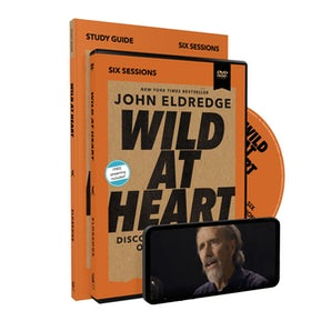 Wild at Heart Study Guide with DVD Updated Edition book image