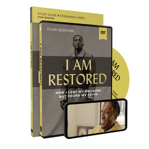 I Am Restored Study Guide with DVD book image