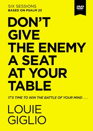 Don't Give the Enemy a Seat at Your Table Video Study book image
