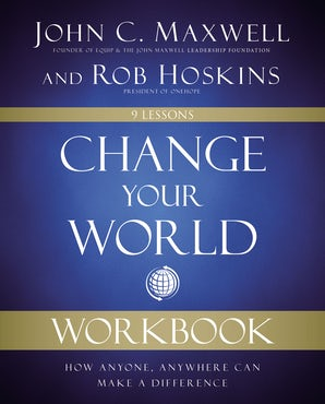 Change Your World Workbook book image