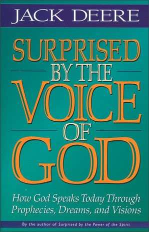 Surprised by the Voice of God book image