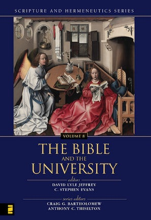 The Bible and the University book image