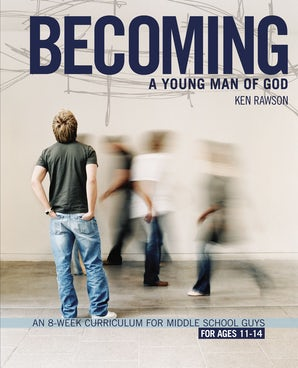Becoming a Young Man of God book image