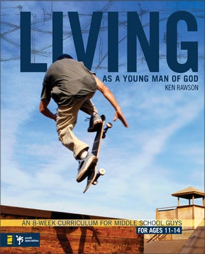 Living as a Young Man of God book image