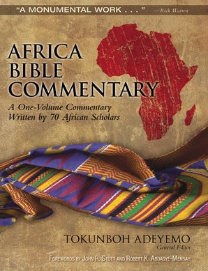 Africa Bible Commentary book image