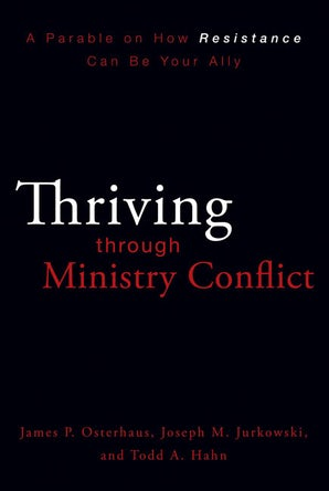 Thriving through Ministry Conflict book image
