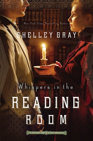 Whispers in the Reading Room Paperback  by Shelley Gray