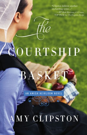 The Courtship Basket Paperback  by Amy Clipston