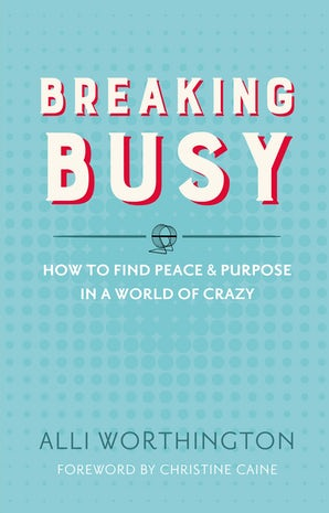 Breaking Busy book image