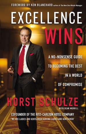 Excellence Wins book image