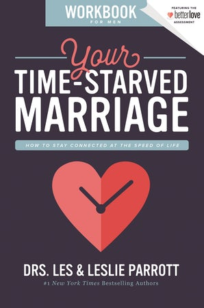 Your Time-Starved Marriage Workbook for Men book image
