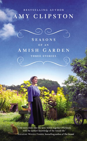 Seasons of an Amish Garden Paperback  by Amy Clipston