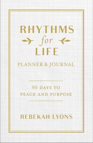 Rhythms for Life Planner and Journal book image