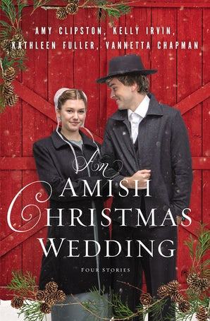 An Amish Christmas Wedding Paperback  by Amy Clipston