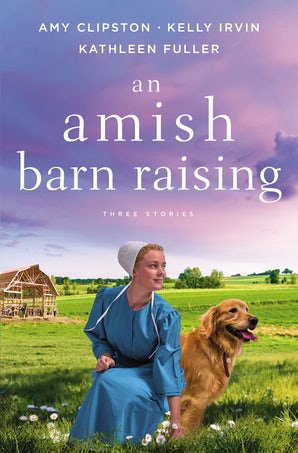 An Amish Barn Raising Paperback  by Amy Clipston