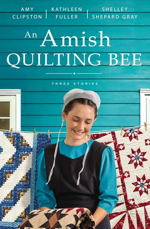 An Amish Quilting Bee Paperback  by Amy Clipston