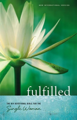 NIV, Fulfilled Devotional Bible for the Single Woman, Hardcover