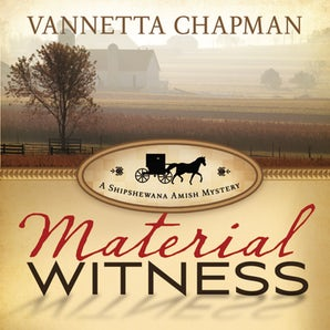 Material Witness Downloadable audio file UBR by Vannetta Chapman