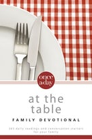 NIV, Once-A-Day At the Table Family Devotional, Paperback