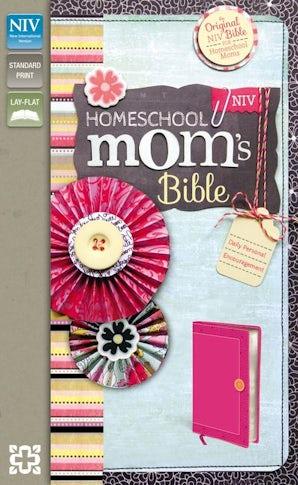 NIV, Homeschool Mom's Bible, Leathersoft, Pink book image