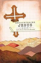 NIV, Encountering Jesus Bible, Hardcover (Encounter Bible Series)