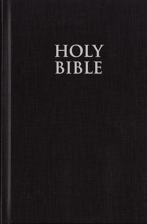 NIV, Pew Bible, Large Print, Hardcover, Black