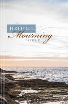 NIV, Hope in the Mourning Bible, Hardcover