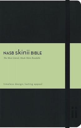 NASB, Skinii Bible, Leathersoft, Black