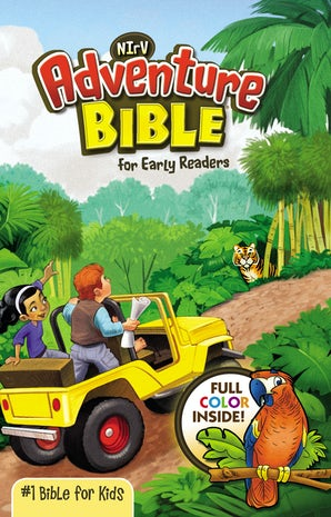 NIrV, Adventure Bible for Early Readers, eBook book image