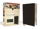 NIV, Cultural Backgrounds Study Bible, Bonded Leather, Black, Red Letter Edition